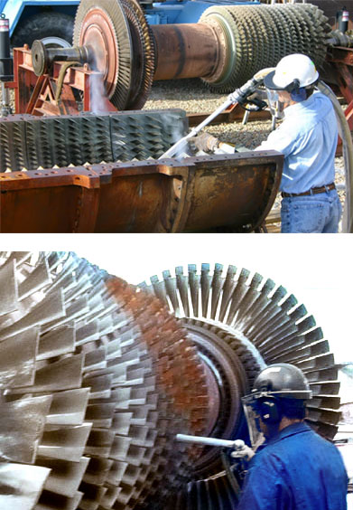Power Generation Dry Ice Blasting